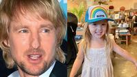 Why hasn't Owen Wilson met his daughter?