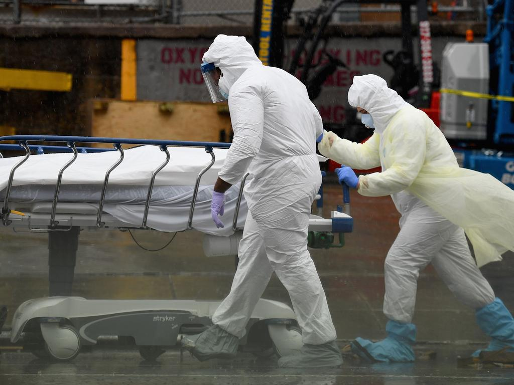 New York is now the global epicentre of the disease. Picture: Angela Weiss / AFP