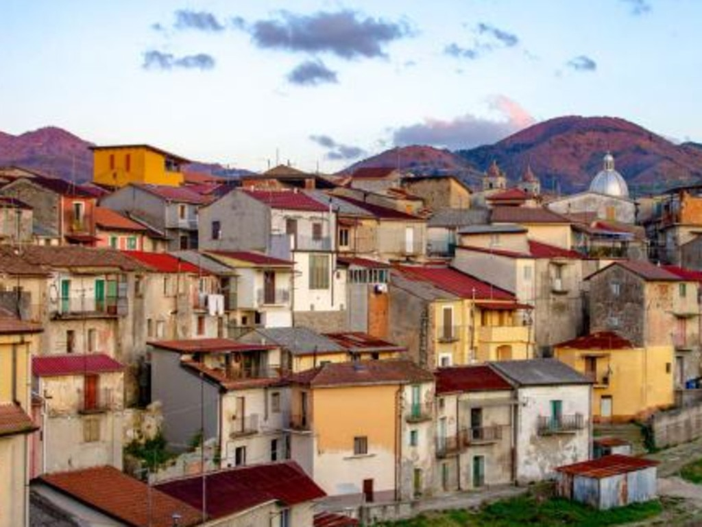 If the buyer doesn't complete their renovations within three years, they could be liable for a €20,000 ($AU33,000) fine. Picture: MUNICIPALITY OF CINQUEFRONDI/TULLIO PRONESTI