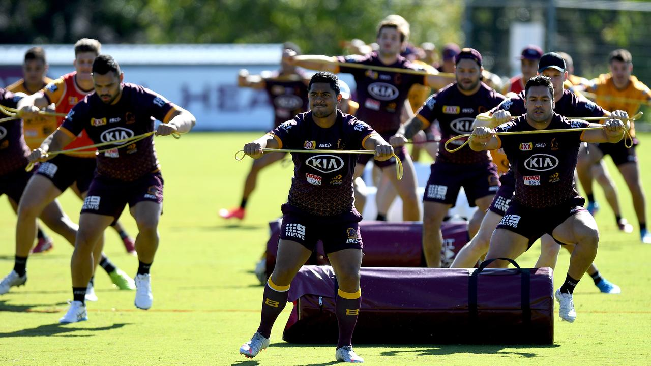 The Broncos sit 15th on the NRL ladder this season. Picture: Getty Images