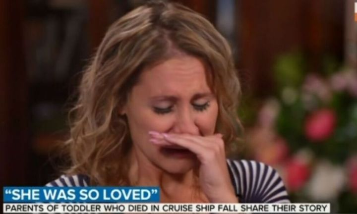 Parents of daughter who died after fall on cruise ship speak about tragedy