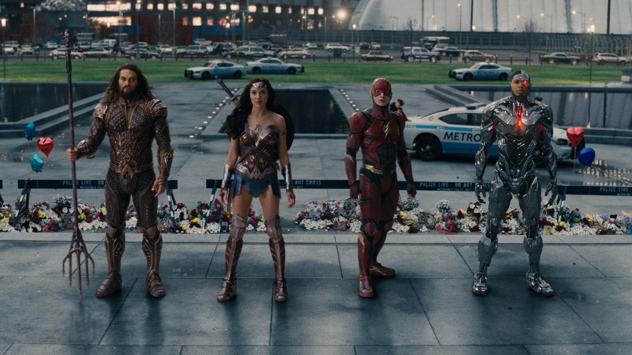 Justice League, supplied.