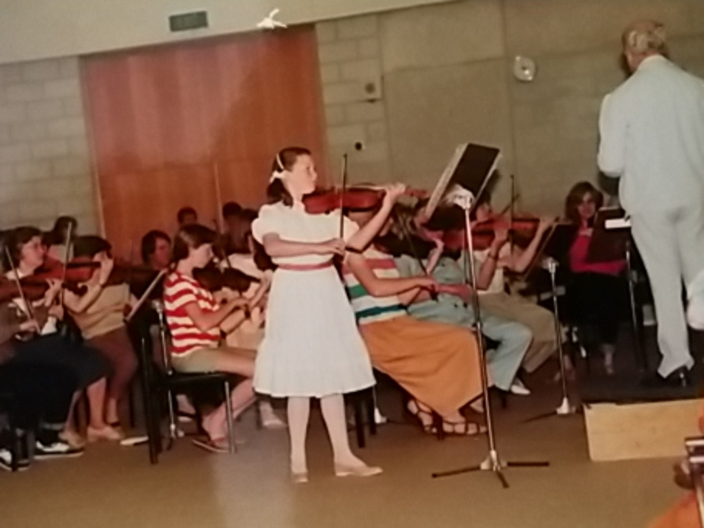 Georgie was a violin prodigy until the abuse made music unpalatable to her. Picture: Supplied