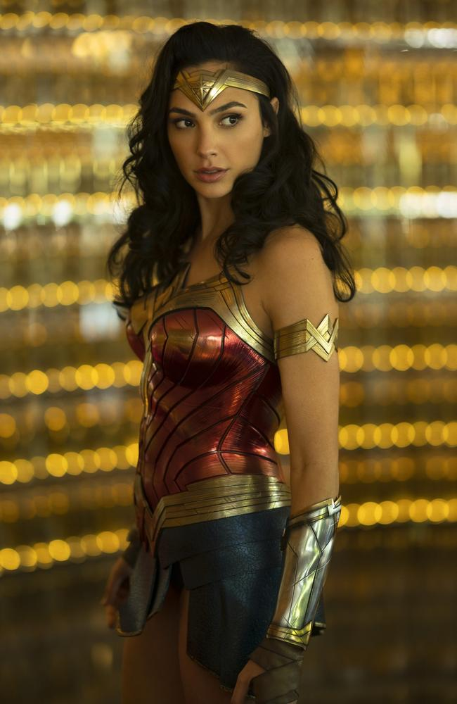 Gal Gadot suits up once more for Wonder Woman 1984. Picture: Warner Bros Pictures