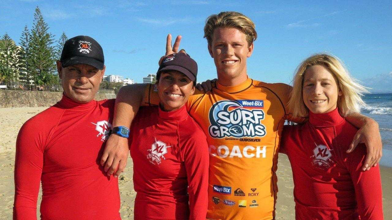 The XL Surfing Academy team. Picture: CONTRIBUTED