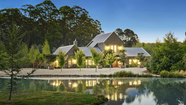 220 Mulcahys Rd, Trentham is set to head under the hammer next month with a $2-$2.2 million price guide.