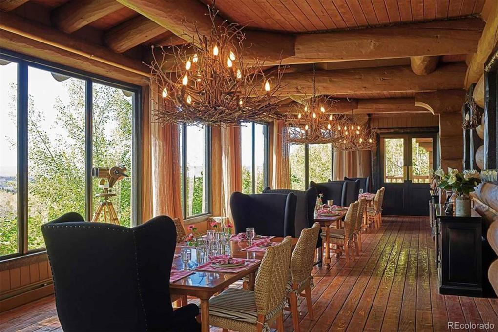 In addition to the main lodge, there are cabins and a saloon/dance hall which provides accommodations for plenty of guests. Picture: Realtor