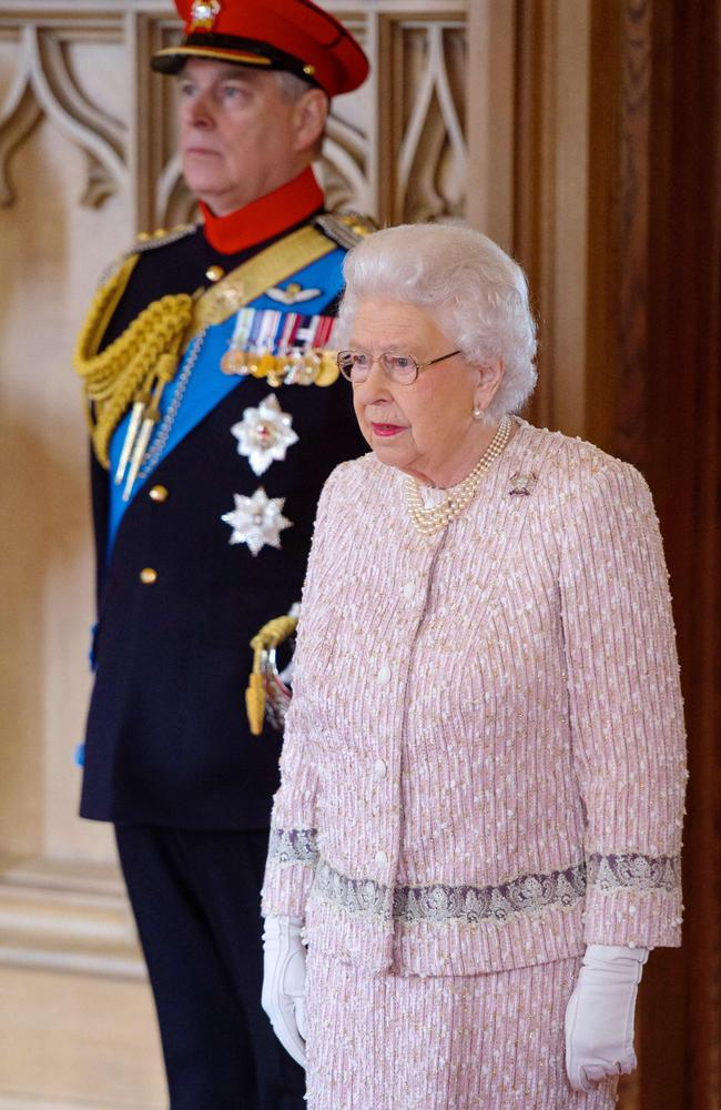The Queen has long stood by her troubled 'favourite' son. Picture: Dominic Lipinski/AFP