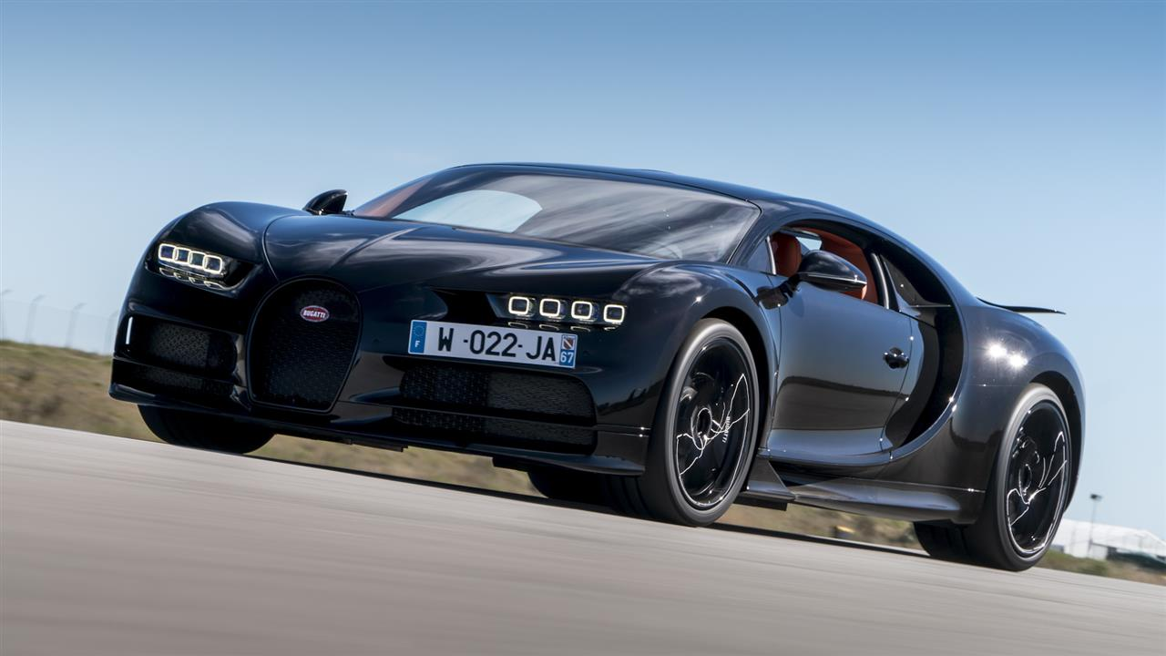 Bugatti's Chiron: Excuse Me While I Touch the Sky...Again