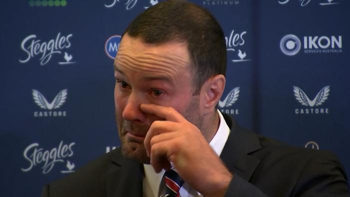 Roosters captain Boyd Cordner announces his immediate retirement.
