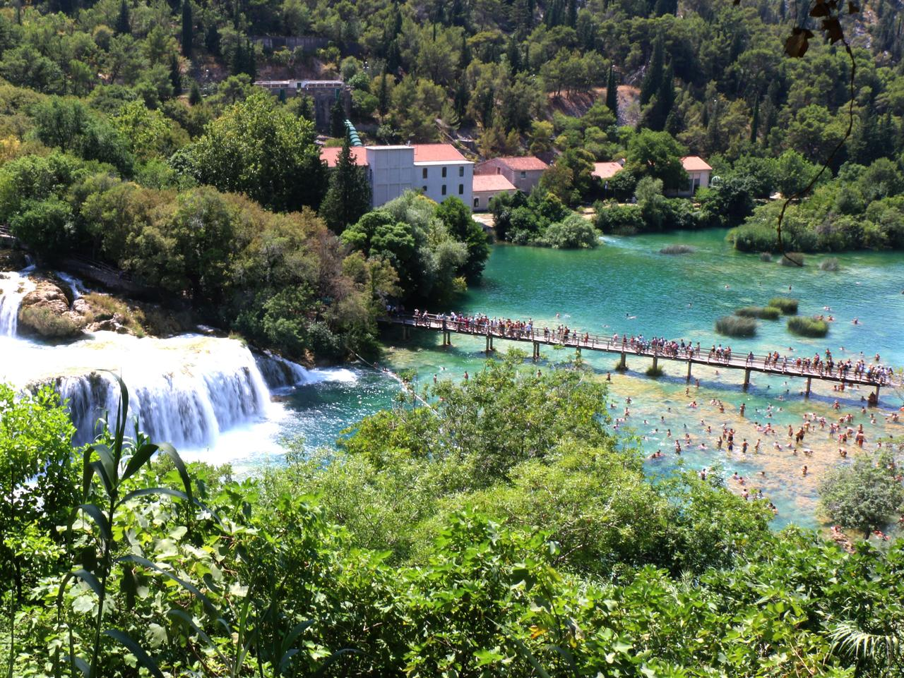 Krka National Park is a great day trip. Picture: Georgina Auton.