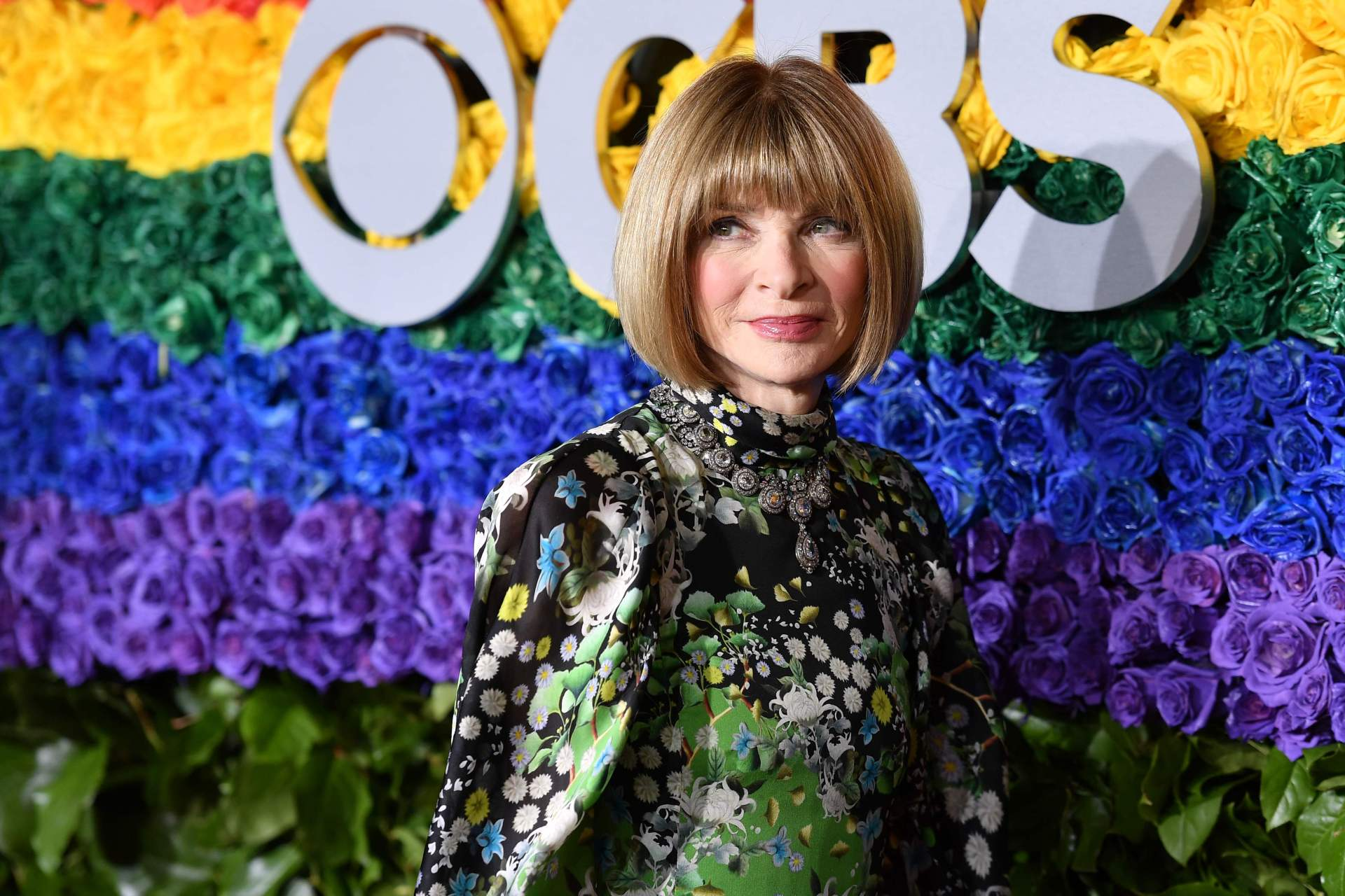 Anna Wintour gives flip flops her nod of approval