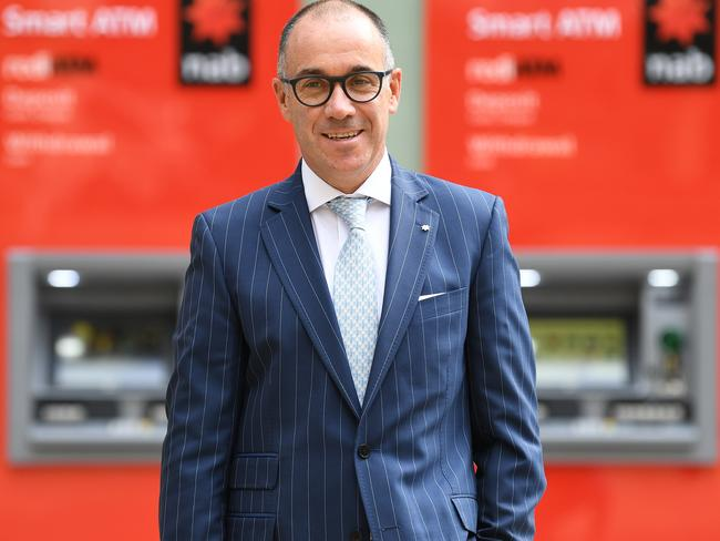 NAB Group CEO Andrew Thorburn has overseen a profit slump. Picture: AAP
