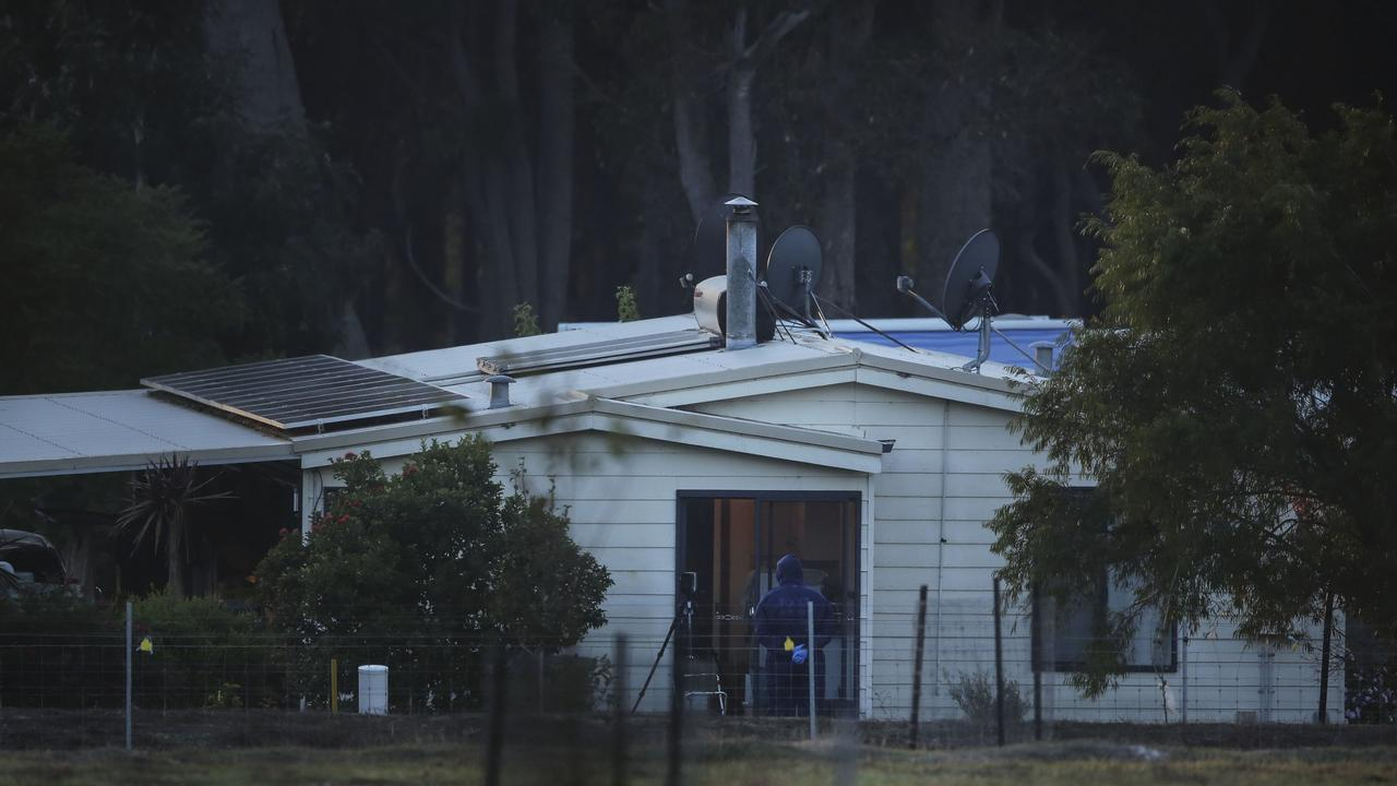 The property where the shooting took place. Picture: Michael Wilson, The West Australian.
