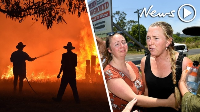 Embattled Aussies continue to deal with the harrowing bushfires