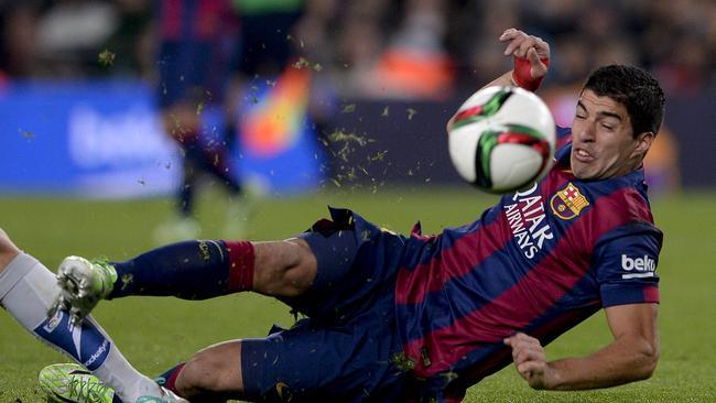 Luis Suarez has not yet matched his Liverpool goal-scoring exploits.