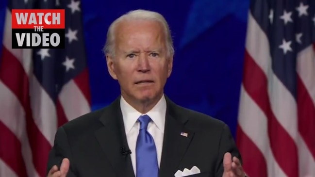 Full video: Joe Biden's 2020 acceptance speech