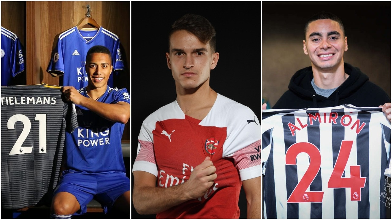 Youri Tielemans, Denis Suarez and Miguel Almiron have all joined Premier League sides.