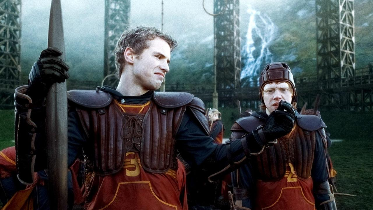 The star portrayed arrogant Cormac McLaggen in the sixth film of the Harry Potter franchise. Picture: Supplied