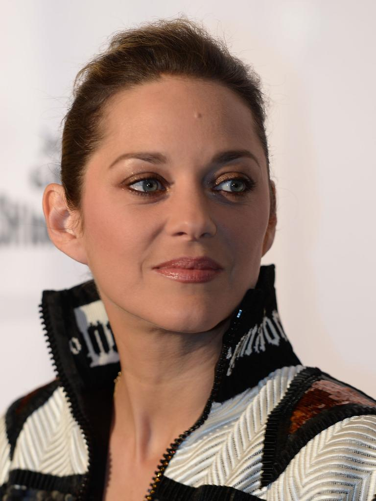 French actress Marion Cotillard came in at number three. Picture: AFP