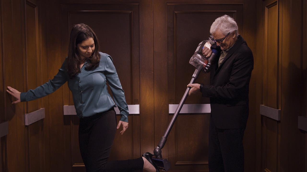 In the Elevator With James Dyson