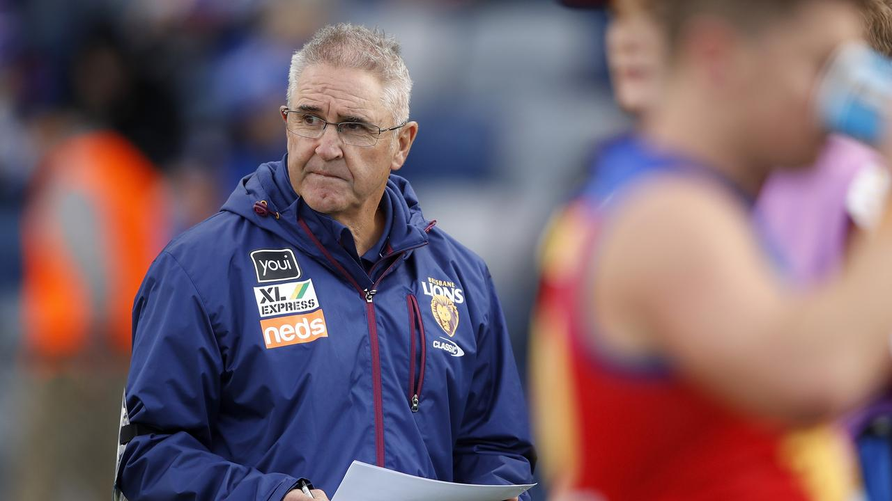 The Lions have work to do. Photo: Dylan Burns/AFL Photos via Getty Images.