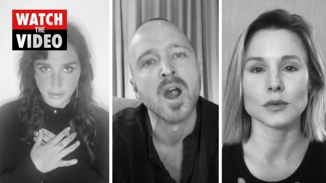 Celebrities team up for 'I Take Responsibility' racism video