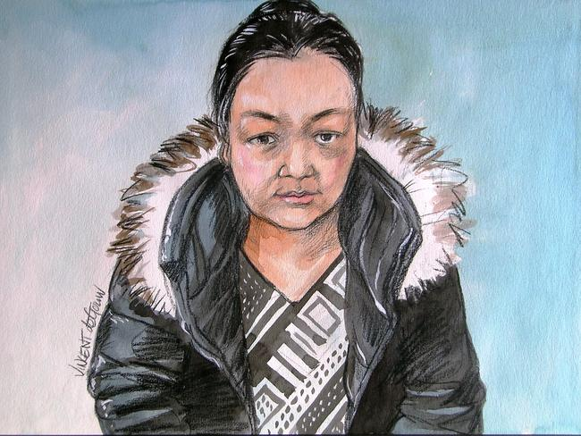 Redfern detectives charged 33-year-old Chinese woman Jei Shao with reckless grievous bodily harm and using poison so as to endanger life. Picture: Vincent de Gouw