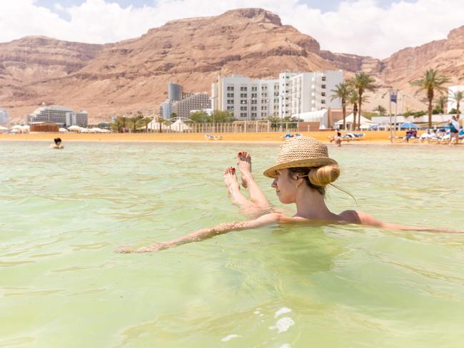 The Dead Sea is ten times saltier than the ocean.