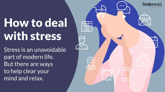 Stress is an unavoidable part of modern life. But there are ways to help clear your mind and relax.