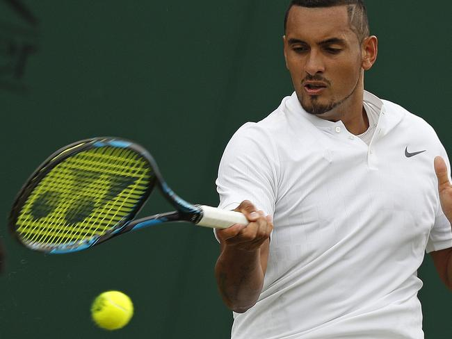 Kyrgios took exception to comments from tennis legend Ken Rosewall questioning his attitude.