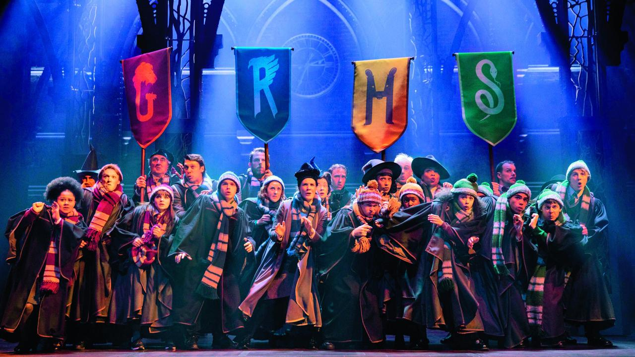 Harry Potter and the Cursed Child brings the Hogwarts magic to Melbourne. Picture: Matt Murphy