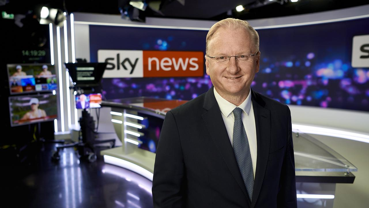 Sky News chief executive officer Paul Whittaker.
