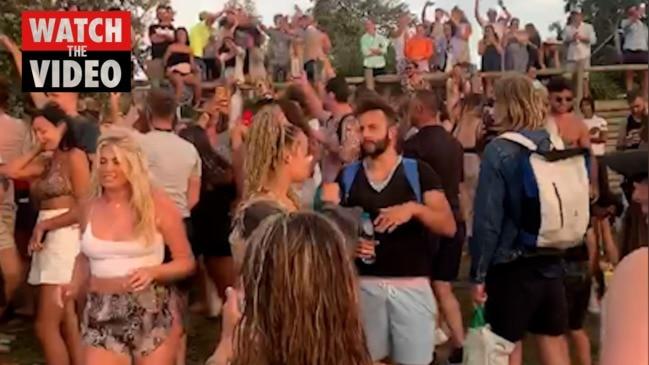 North Bondi beach party