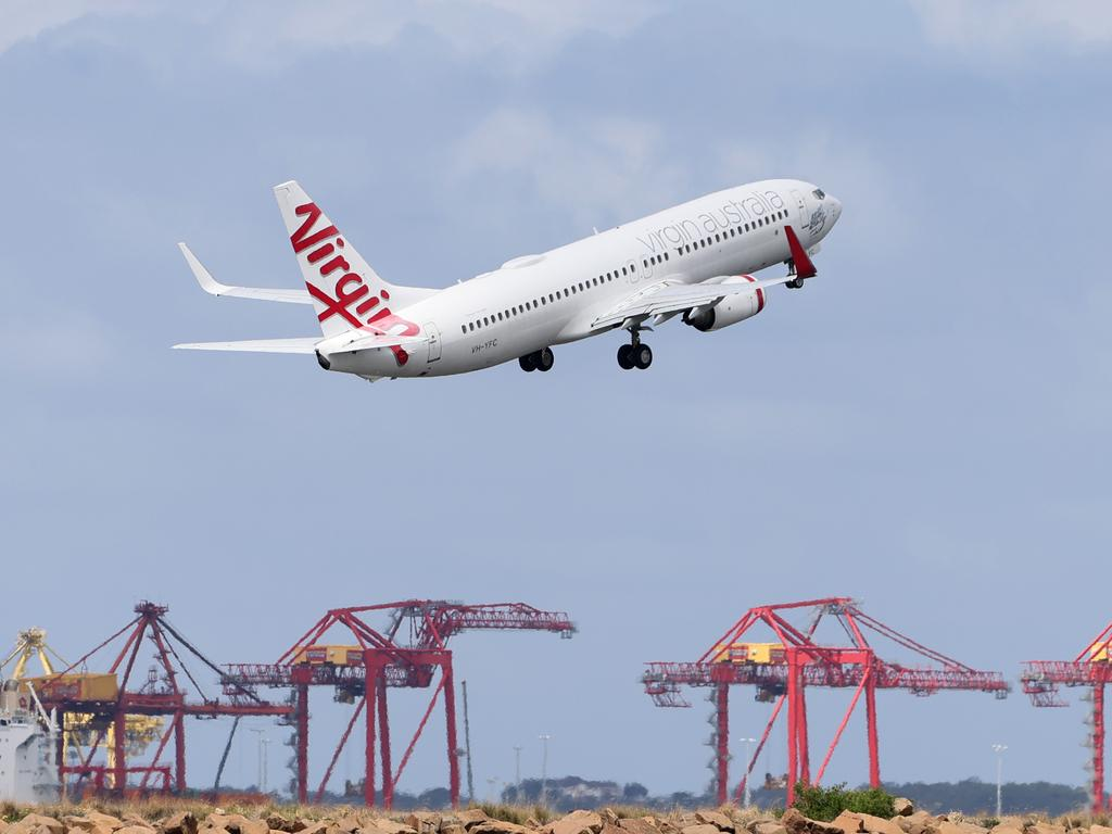 Virgin Australia's Velocity members can earn triple points on eligible flight bookings made until April 25. Picture: Damian Shaw/NCA NewsWire