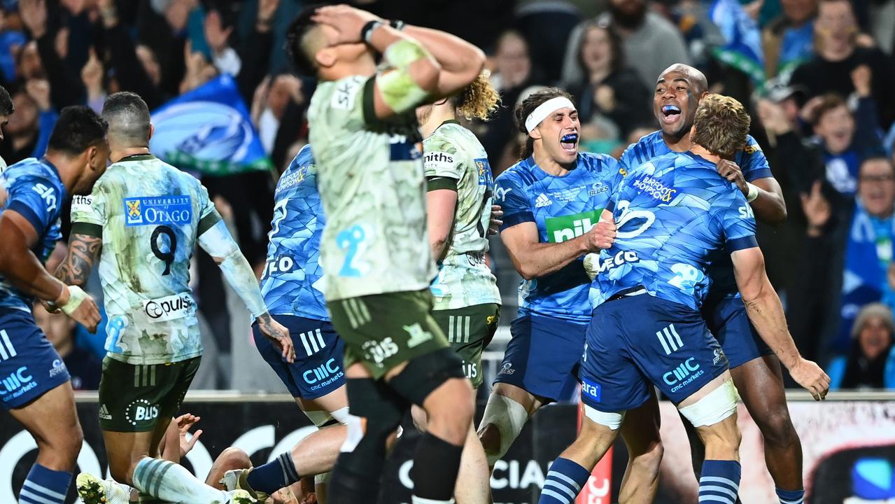 Blues break 18-year drought to win Super Rugby Trans Tasman final