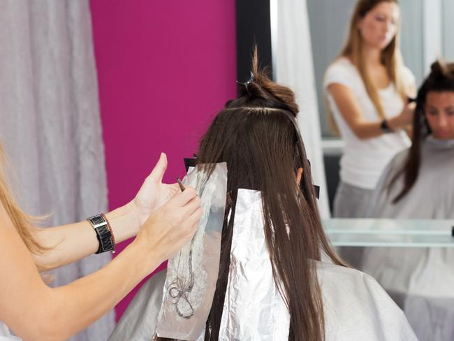 The lead author of the study said while there was a possible link between dark hair dye, chemical straighteners and cancer, it didn't prove a connection.