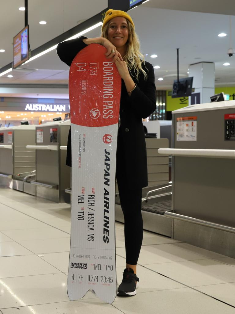 Japan Airlines is gifting 27 lucky passengers a one-of-a-kind snowboard.