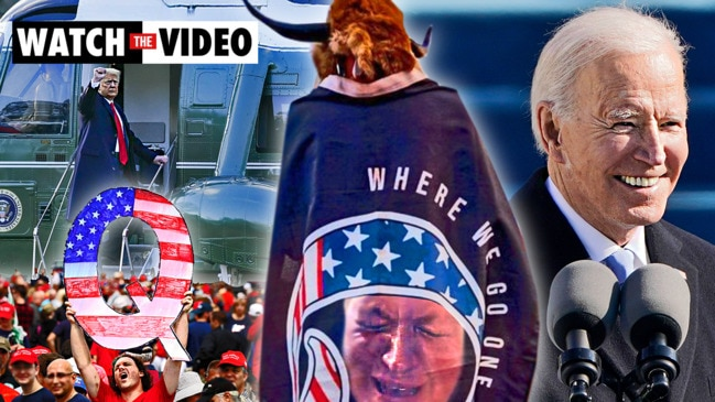 QAnon followers left sad and disillusioned after Biden inauguration
