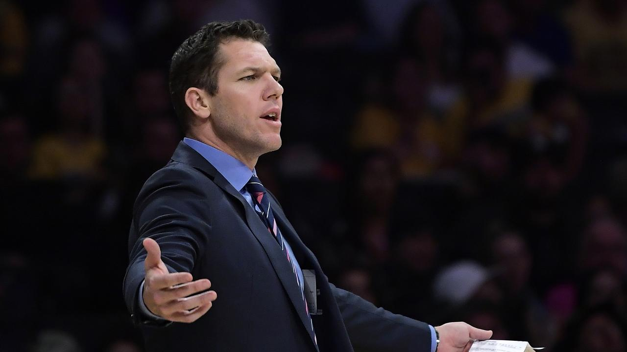 Luke Walton and the Lakers have parted ways.