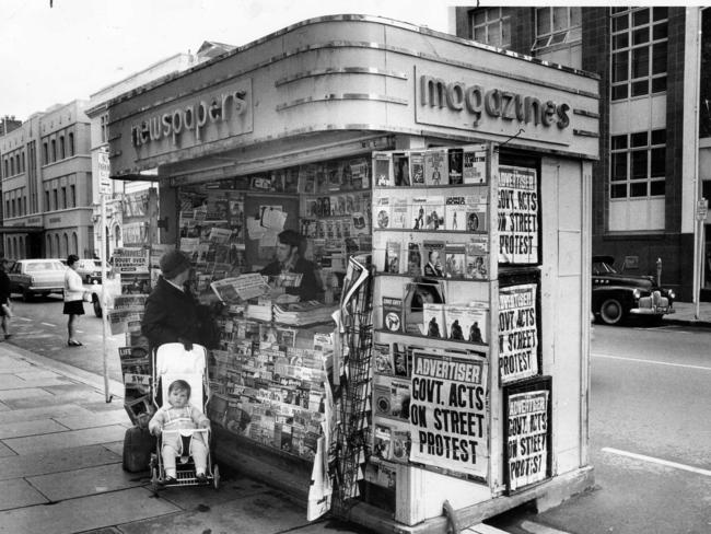 If you remember the newspaper and magazine stands in the city, then you're been around for a while. This is from 1970.