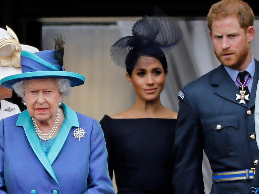 It looks like Meghan and Harry might not get the 'Megxit' they're asking for after all. Picture: Tolga Akmen/AFP