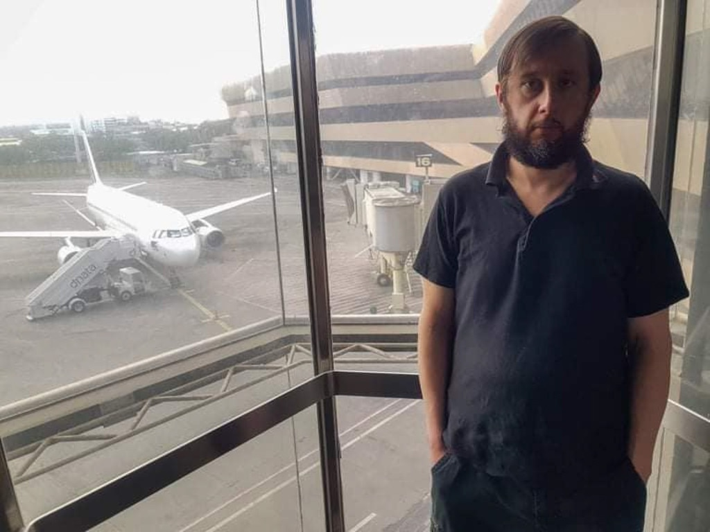 Mr Trofimov was unable to enter the Philippines. Picture: ViralPress