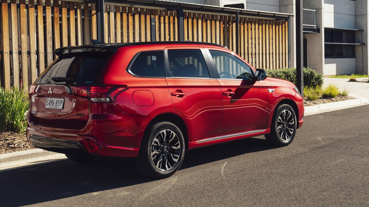 Plug-in hybrid cars such as the Mitsubishi Outlander PHEV don't miss out on Victoria's EV tax.