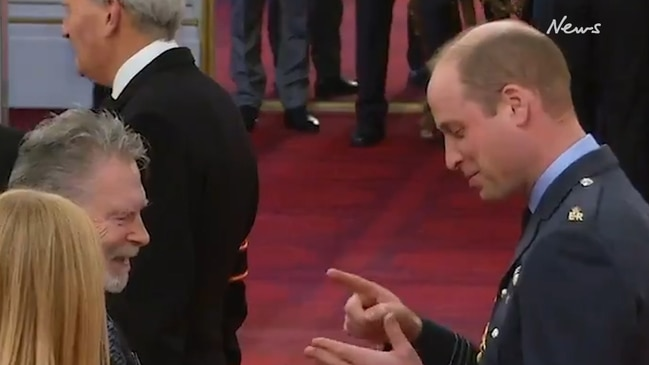 Prince William shows off sign language skills to honour TV translator