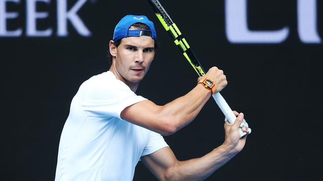 Rafael Nadal is hoping to be back in action.