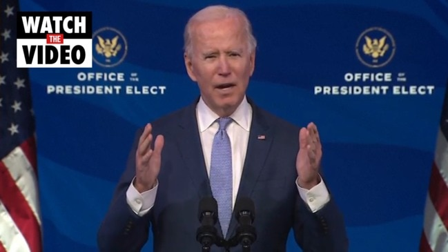 Biden denounces 'unprecedented assault' on US democracy