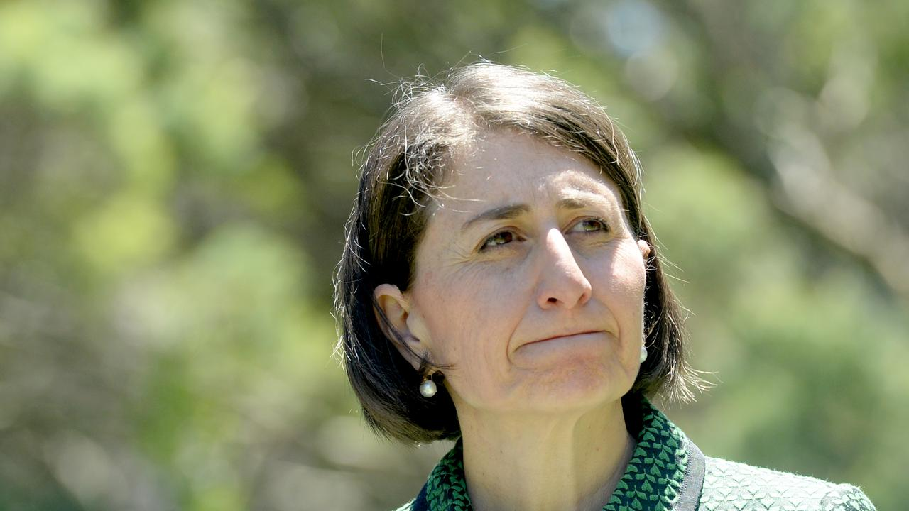 NSW Premier Gladys Berejiklian has revealed COVID-related NYE restrictions. Picture: NCA NewsWire / Jeremy Piper