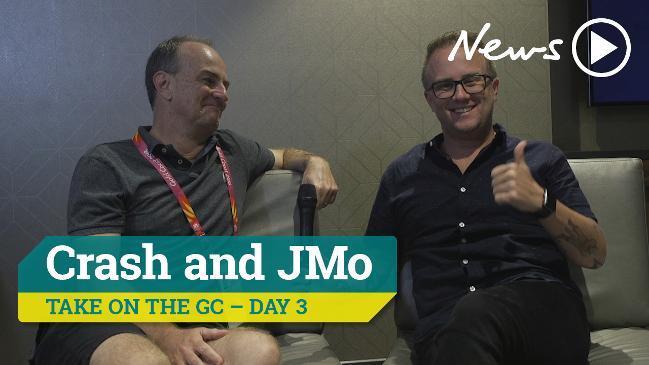 Crash and JMo take on the GC - Day 3
