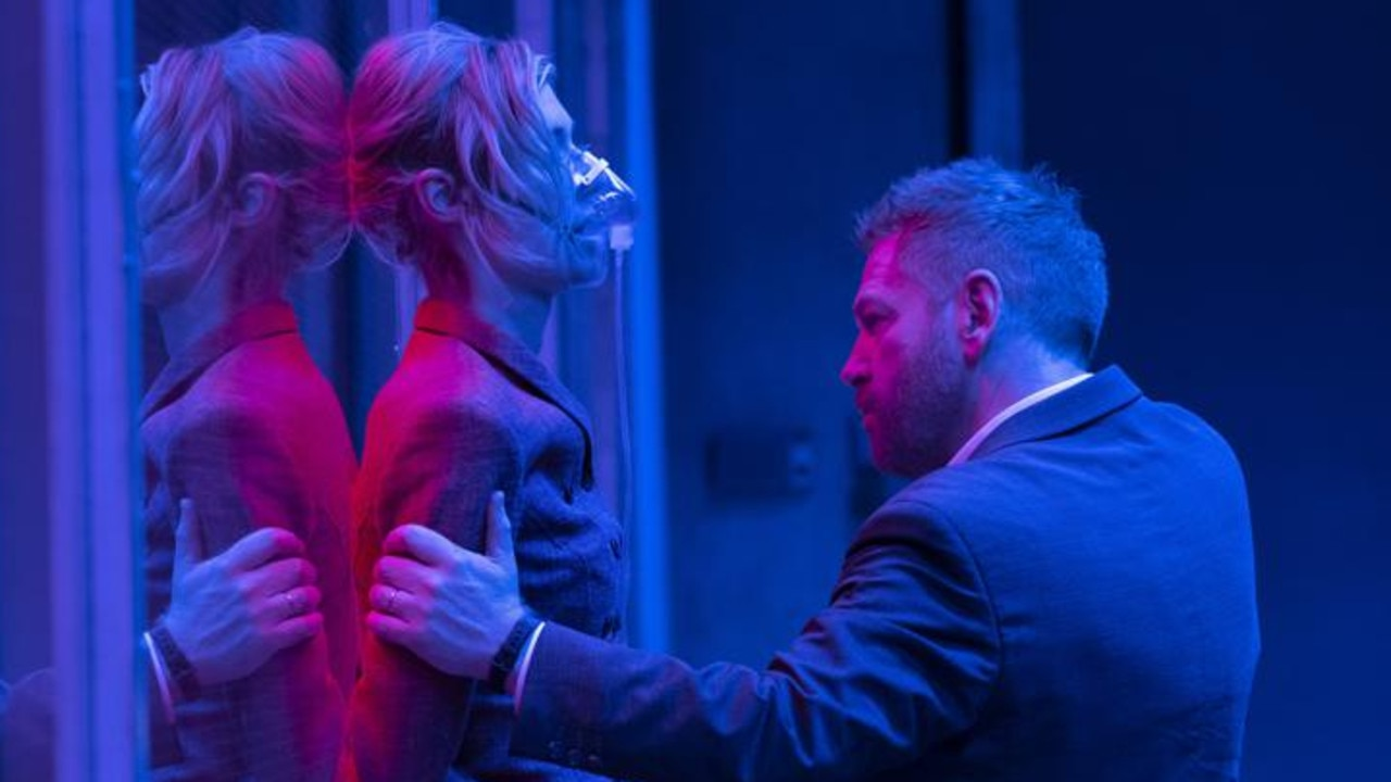 Kenneth Branagh plays a menacing, low-voiced villain in Tenet